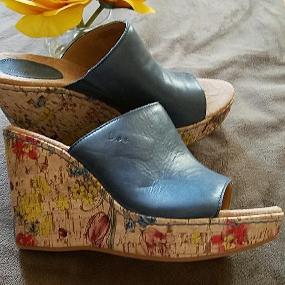 149867993fbb59 b.o.c. Shoes - b.o.c. Born Concepts Floral Wedge Sandal💙
